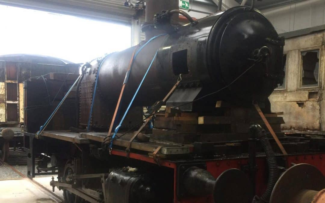 No. 3's restoration is under way!
