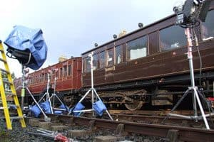 Lights, camera, action, trains!