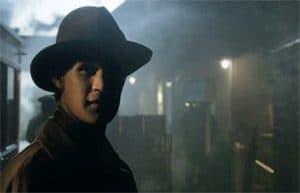 Doctor Who star Matt Smith on Downpatrick's platform