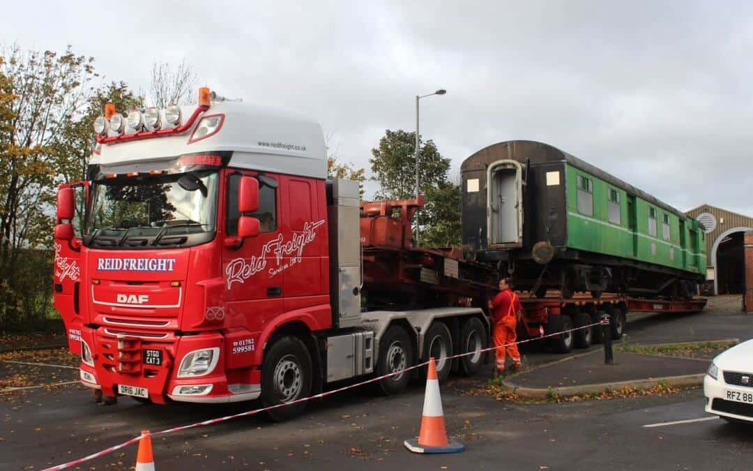 Special Delivery for the Downpatrick & County Down Railway