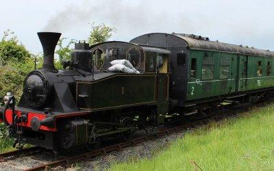 Summer Steam pulls into Downpatrick