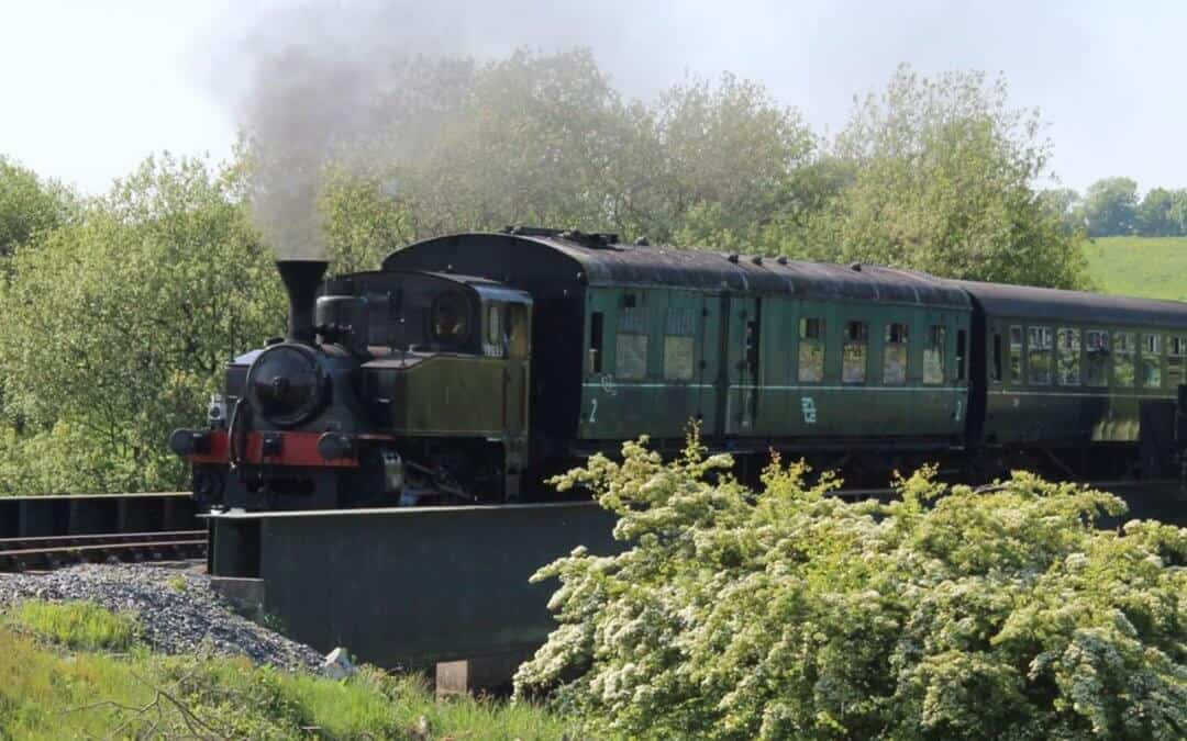 Steam & Diesel Delight at Downpatrick & County Down Railway