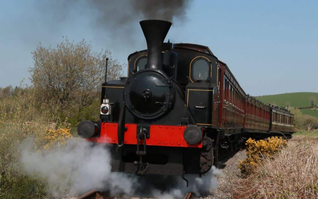 Trains Steaming Back for May Day!