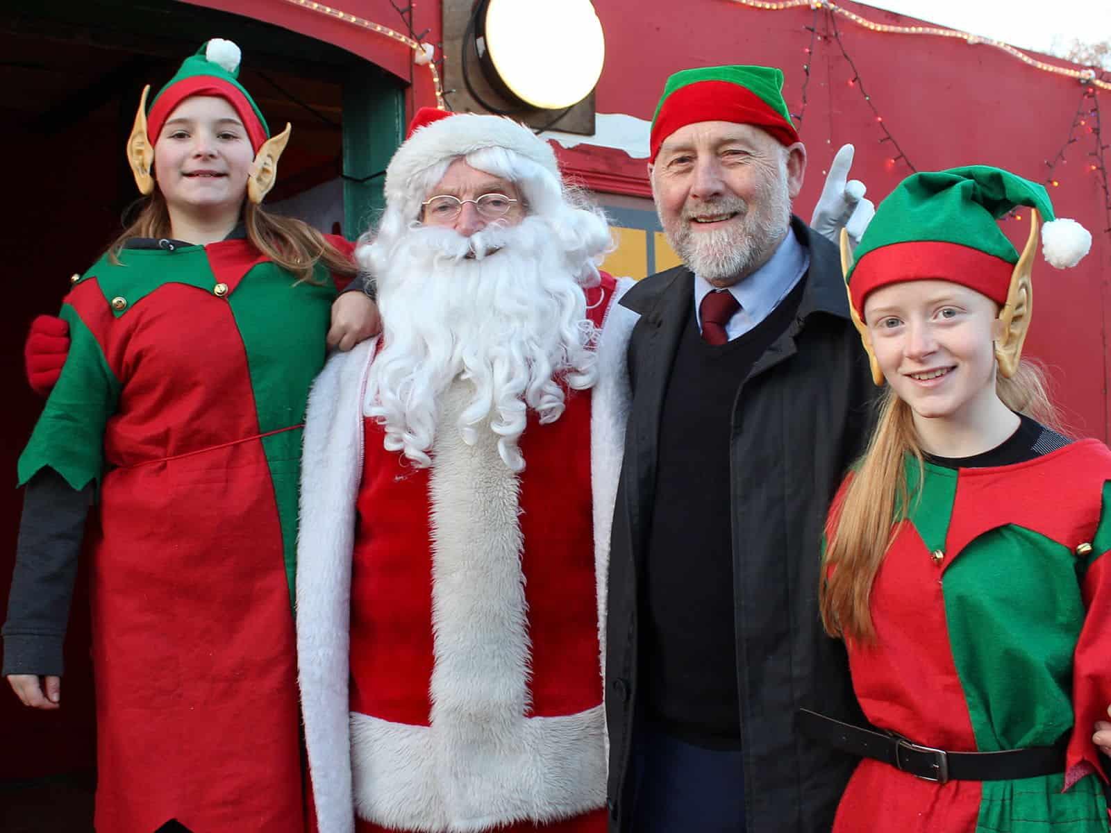 Santa's Helpers - our volunteers